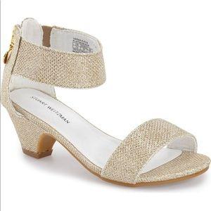 STUART WEITZMAN 'Verna Alexa' Sandal Girls size 1